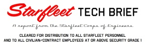 Starfleet Tech Briefs header 2