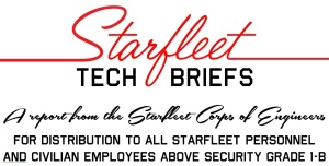 Starfleet Tech Briefs header